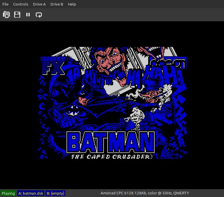 Batman, the caped crusader