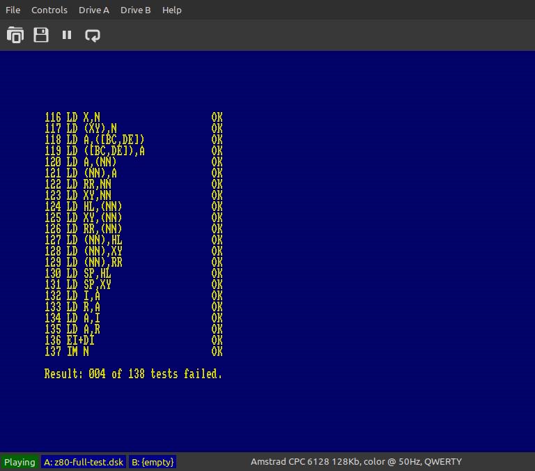 Z80 full test